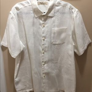 Tommy Bahama Cream Casual Button Shirt